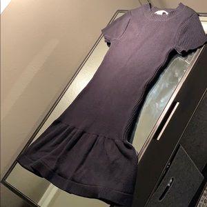 Susana Monaco little black sweater dress